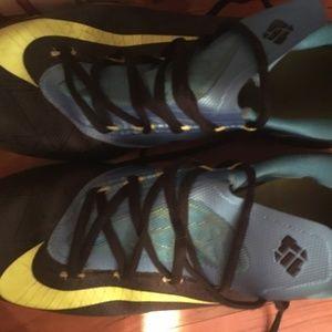 Mens Shoes Nike Zoom Kd Vi Blue Green Yellow Dark